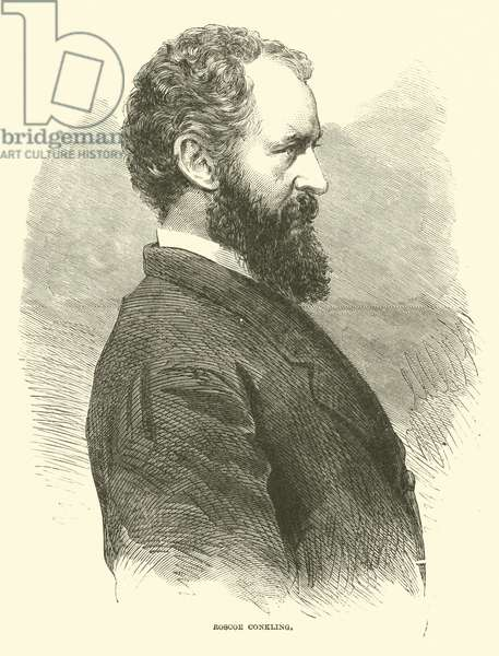 Roscoe Conkling, January 1866 (engraving)