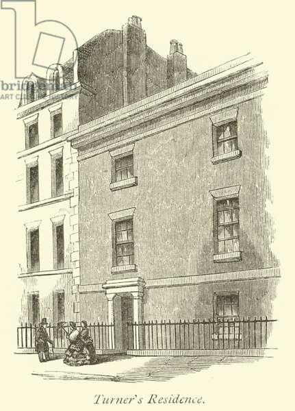 Turner's Residence (engraving)