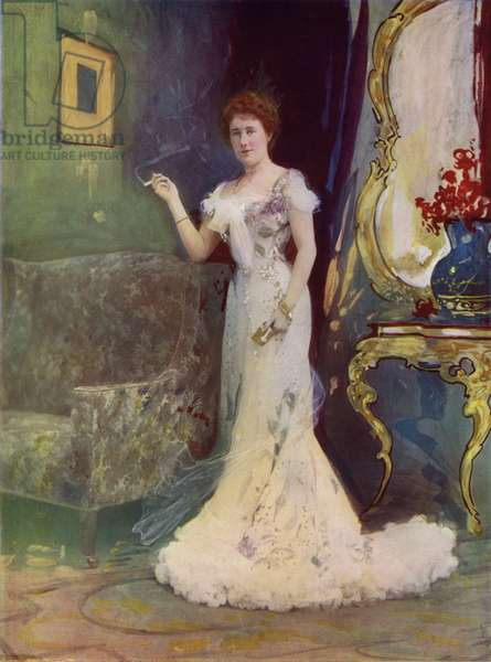 Miss Granville in An Interrupted Honeymoon (colour photo)