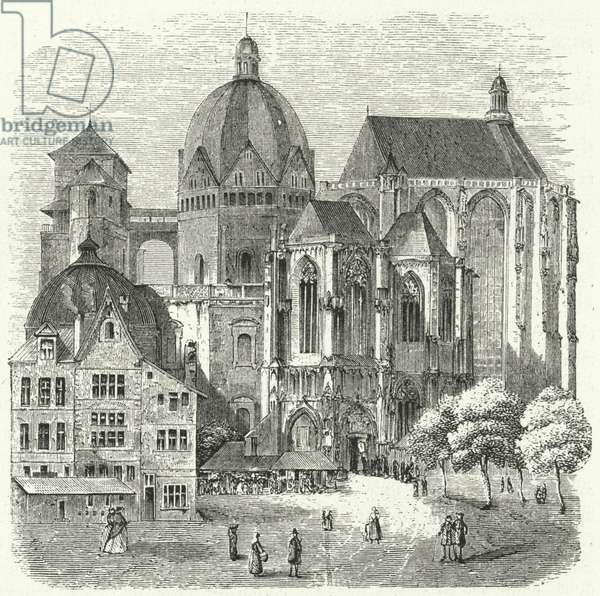 Aachen Cathedral (engraving)