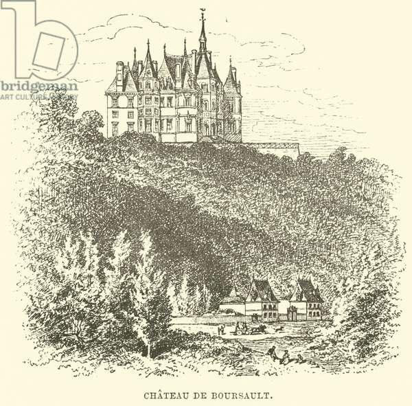 Chateau de Boursault (engraving)