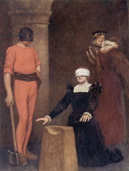 The Execution of Mary Queen of Scots, Fotheringay Castle, February Eighth, 1587