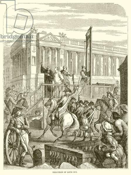 Execution of Louis XVI (engraving)