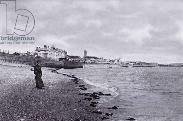 Cornwall: Penzance (b/w photo)