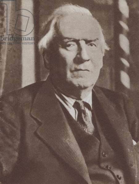 H H Asquith, Earl of Oxford, English Liberal politician and Prime Minister (b/w photo)
