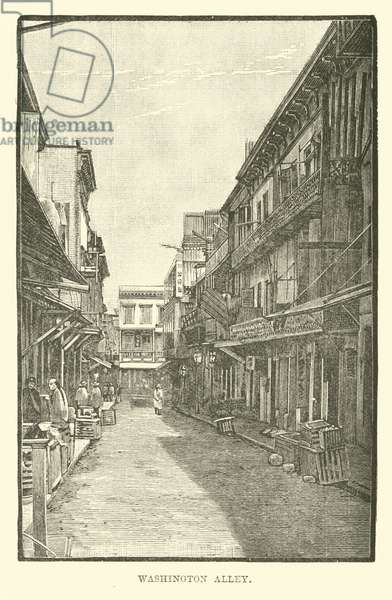 Washington Alley (engraving)