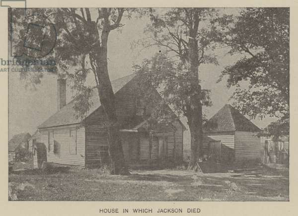 House in which Confederate General Thomas