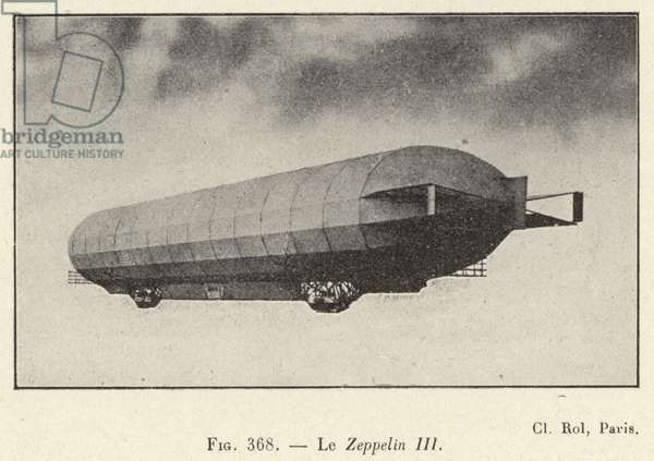 Le Zeppelin III (engraving)