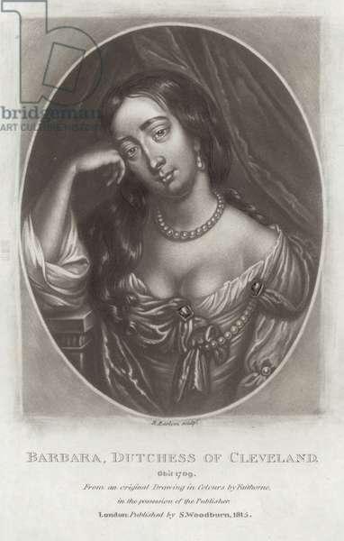Barbara, Duchess of Cleveland (engraving)