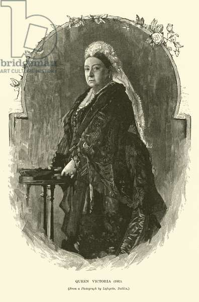 Queen Victoria, 1887 (engraving)