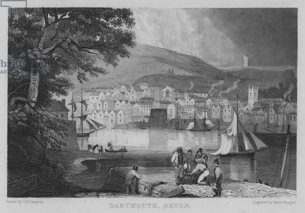 Dartmouth, Devon (engraving)