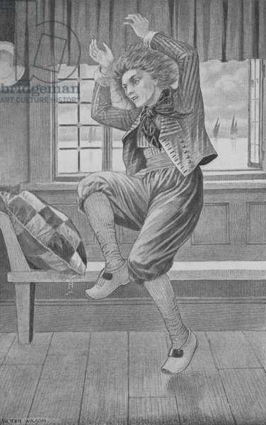 Hans Andersen dances (litho)