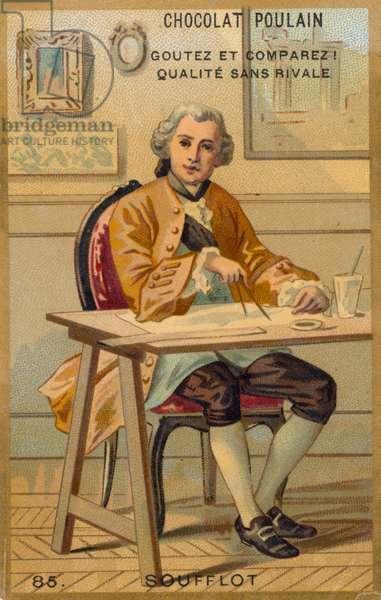 Jacques-Germain Soufflot (chromolitho)
