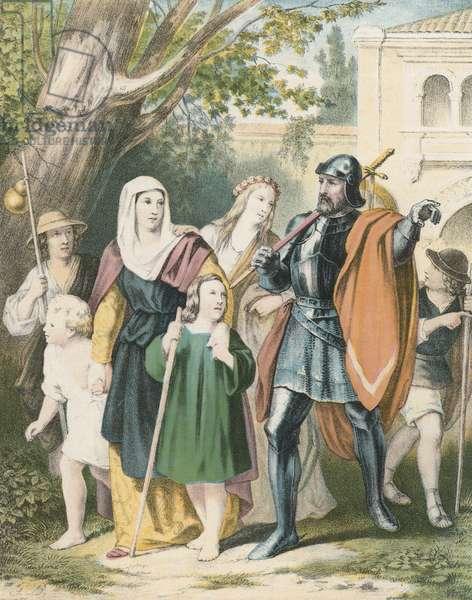 Mr. Great-Heart Conducting the Pilgrims