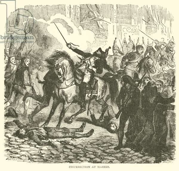 Insurrection at Madrid (engraving)