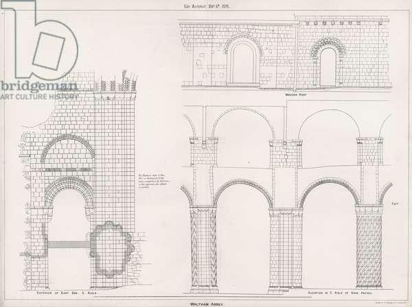 Waltham Abbey (engraving)