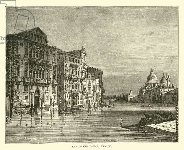 The Grand Canal, Venice (engraving)