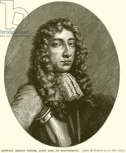Anthony Ashley Cooper, First Earl of Shaftesbury (engraving)