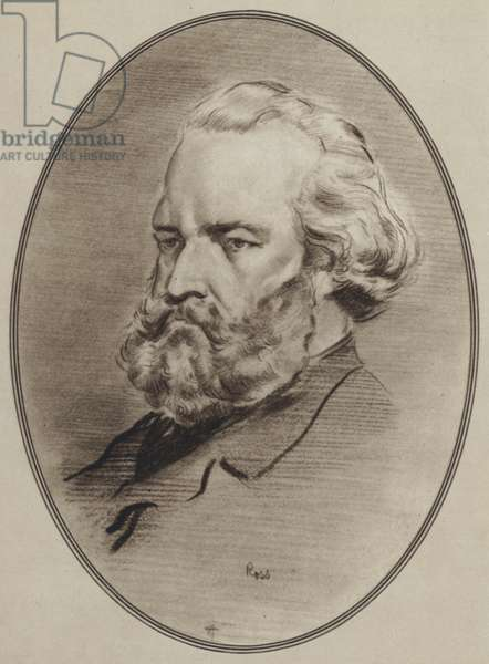 Portraits of Great Painters: Millet (litho)