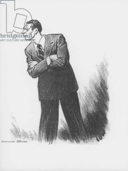 Laurence Olivier (litho)