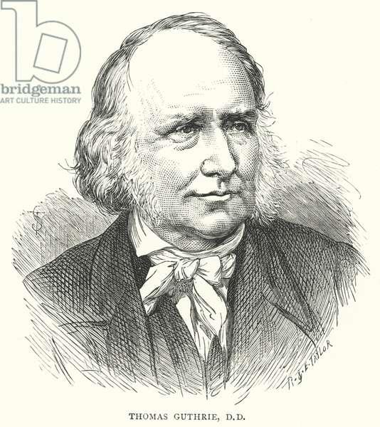 Thomas Guthrie, DD (engraving)