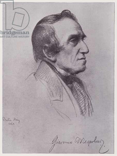 Giacomo Meyerbeer (litho)