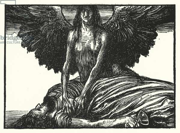 Matthew Arnold poem: Mycerinus (engraving)