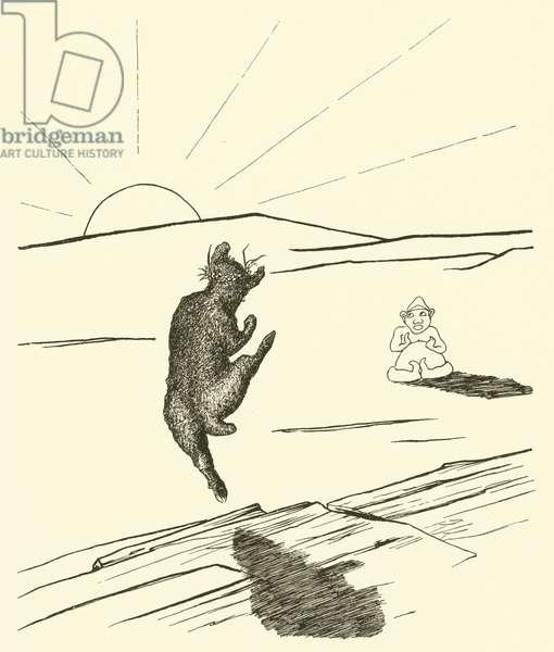 Old Man Kangaroo (engraving)