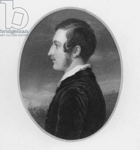 Prince Albert, at the age of twenty (engraving)