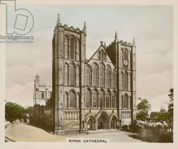 Ripon Cathedral (coloured photo)