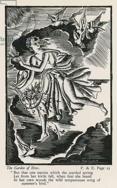 The Garden of Eros (woodblock)