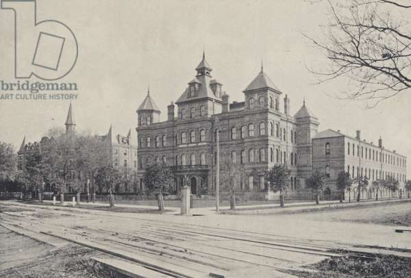 New Orleans: New Orleans University, Jewish Orphan Home (b/w photo)