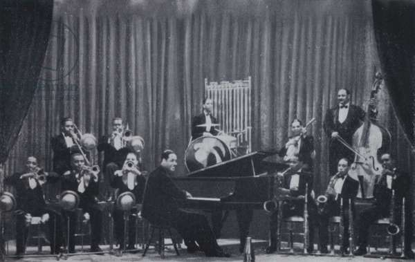Duke Ellington and his Orchestra (b/w photo)