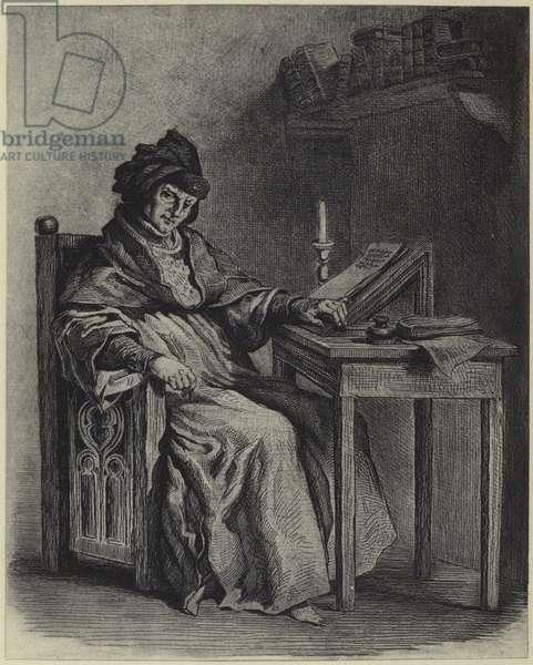 Sir John Froissart (photogravure)