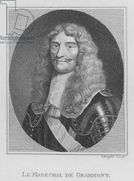 Le Marechal de Grammont (engraving)