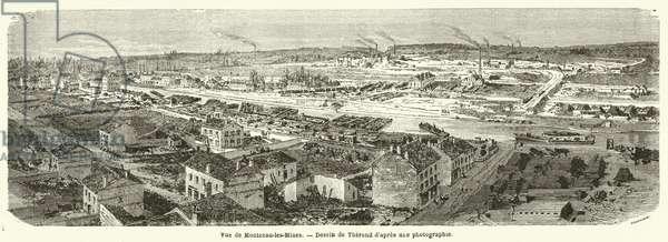 Vue de Montceau-les-Mines (engraving)