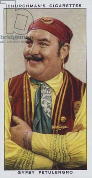 Gypsy Petulengro, Astrologer and Palmist (colour litho)