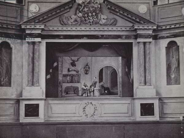 Marionette Theatre, Eton (b/w photo)