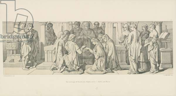 The Marriage of Harold with Aldyth, Sister to Edwin and Morcar