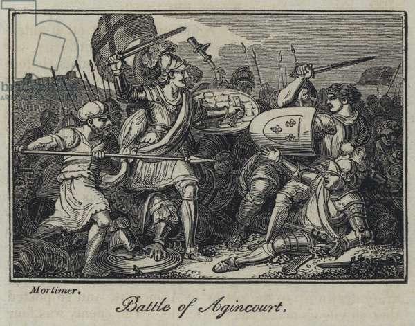 Battle of Agincourt (engraving)