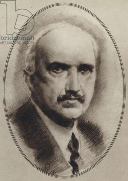 Portraits of Great Philosophers: Santayana (litho)