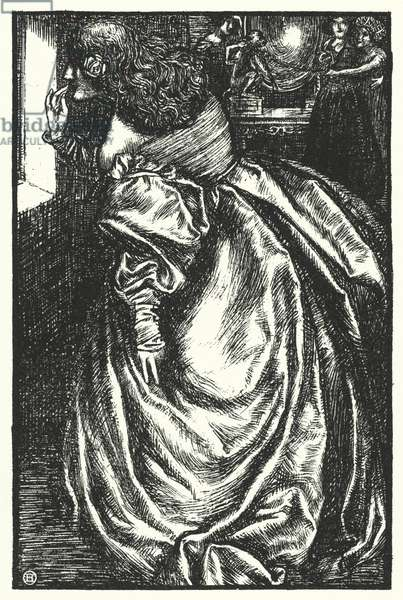 Matthew Arnold poem: The Duchess Marguerite (engraving)