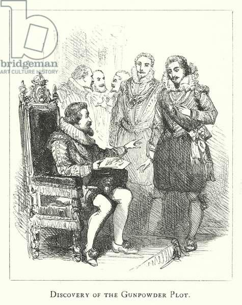 Discovery of the Gunpowder Plot (engraving)