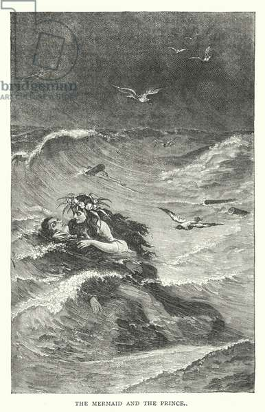 The Mermaid and the Prince (engraving)
