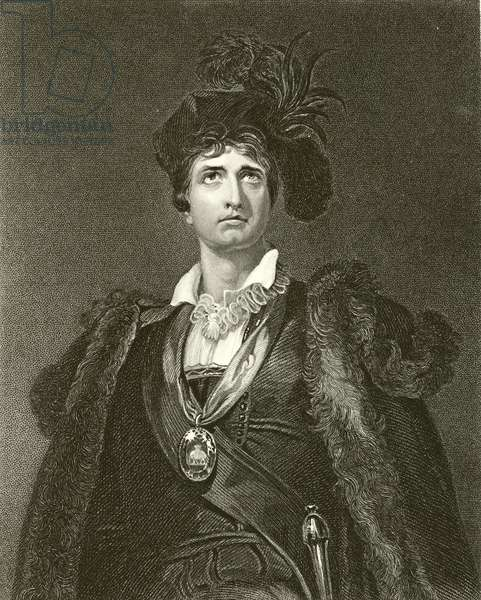 Kemble in the character of Hamlet (engraving)