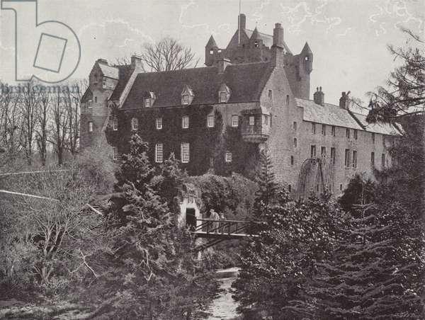 Cawdor Castle (b/w photo)