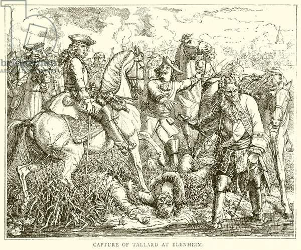 Capture of Tallard at Blenheim (engraving)