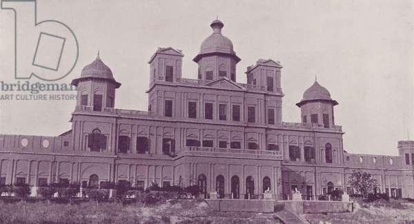The Club, Lucknow (b/w photo)
