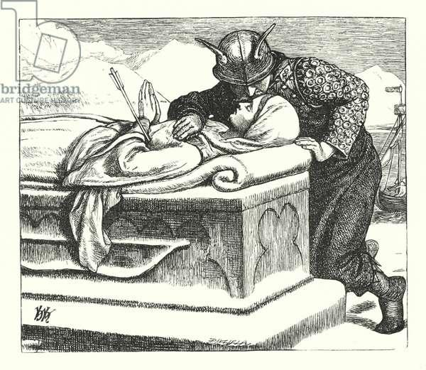 The Ballad of Oriana (engraving)