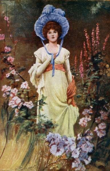 Tennyson Poem: Maud (colour litho)